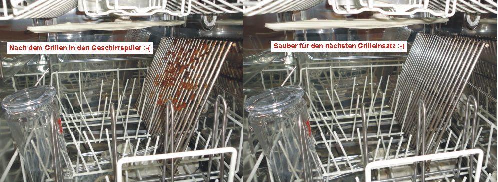 Grillrost Geteilt Im Geschirrspuler